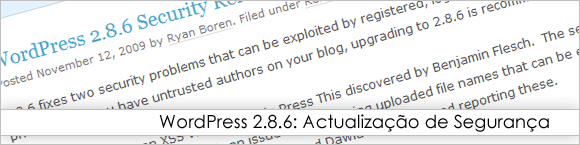 WordPress 2.8.6