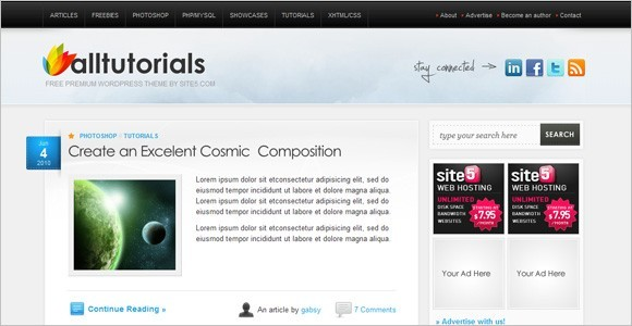 AllTuts WordPress Theme