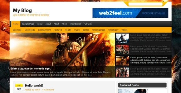 Falcon WordPress Themes