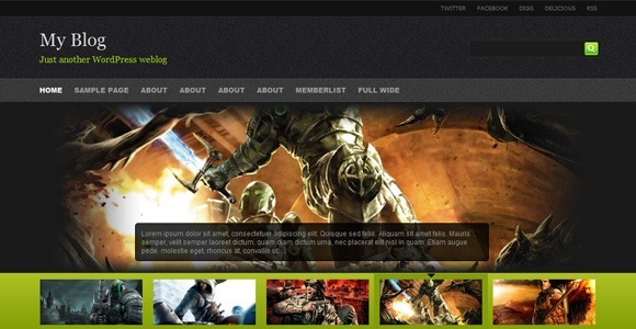 Provogue WordPress Theme