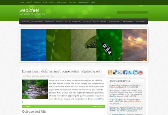 Helios WordPress Theme