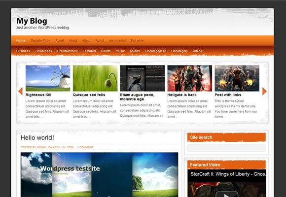 Drakon WordPress Theme