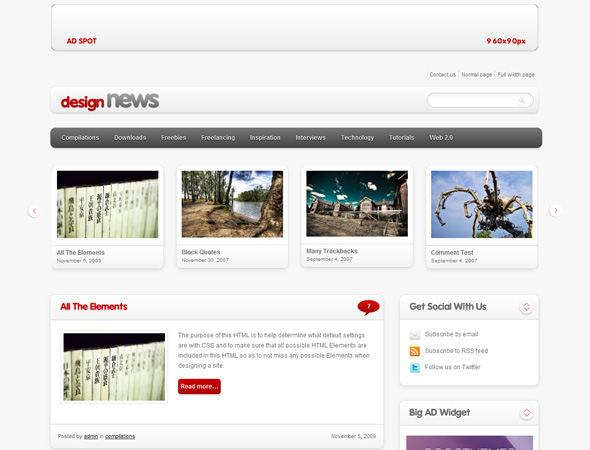 Community Theme - WordPress Theme