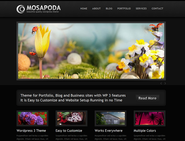 MOSAPODA - Portfolio, Business and Blog Theme
