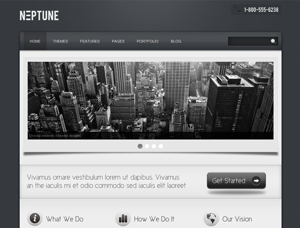Neptune - Business Theme