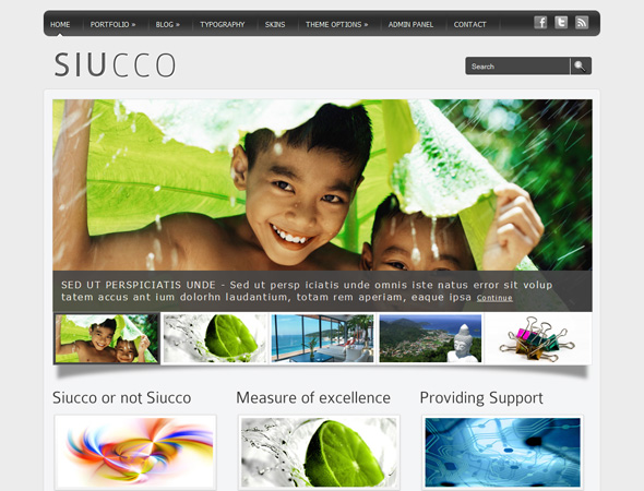 Siucco WordPress Theme