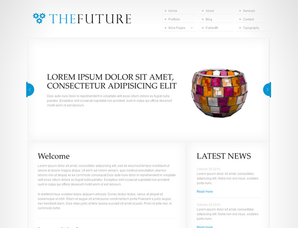 TheFuture - Clean Corporate WordPress Theme