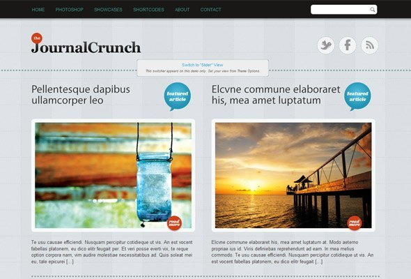 Modest WordPress Theme