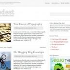 modest-wordpress-theme