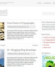 modest-wordpress-theme