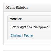 Monster Widget - Todos os Widgets do Wordpress num só