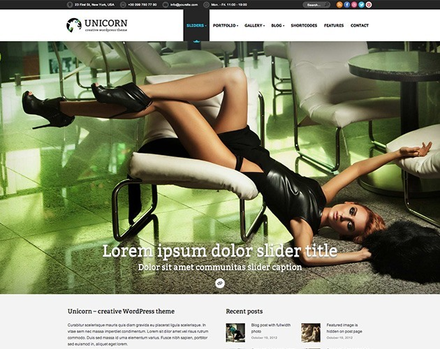 Unicorn: Multipurpose WP Theme