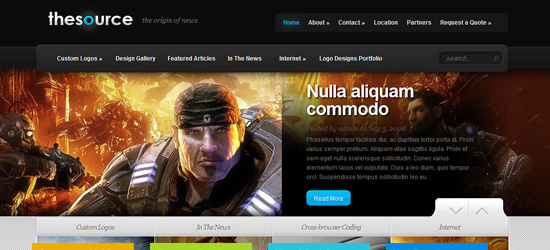 TheSource WordPress Theme